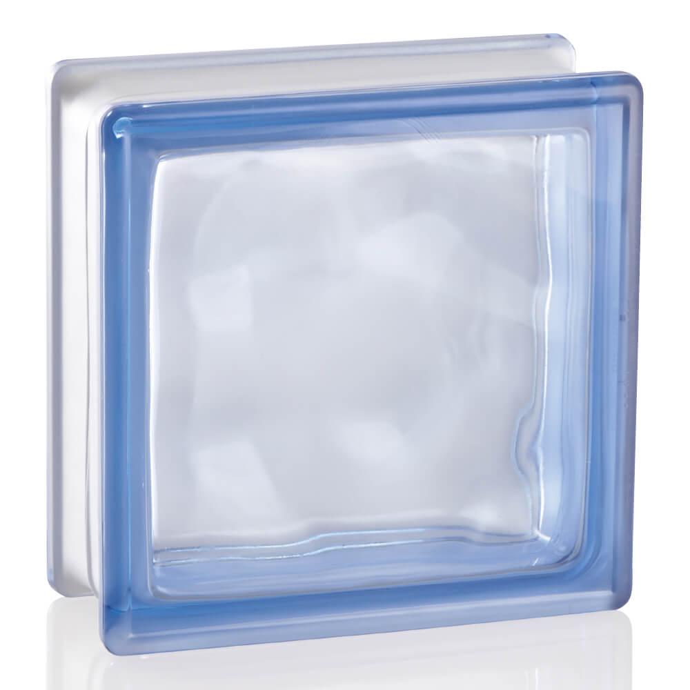 ガラスブロック ブライト ブルー