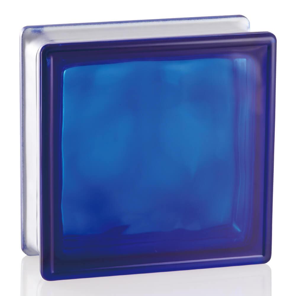 ガラスブロック ブライト コバルトブルー