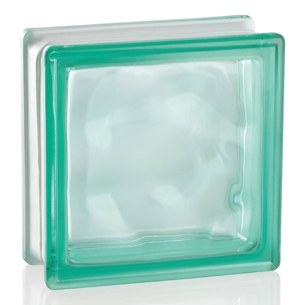 ガラスブロック ブライト グリーン