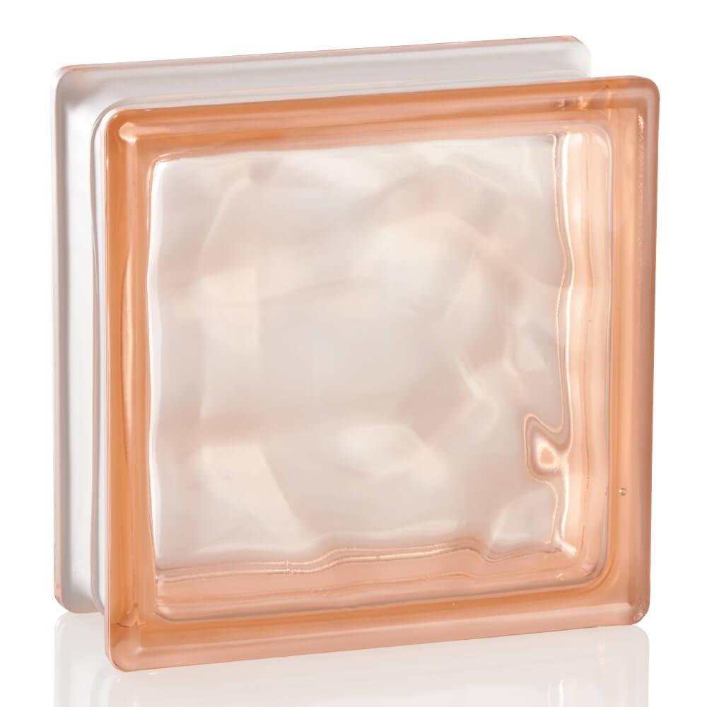 ガラスブロック ブライト ピンク