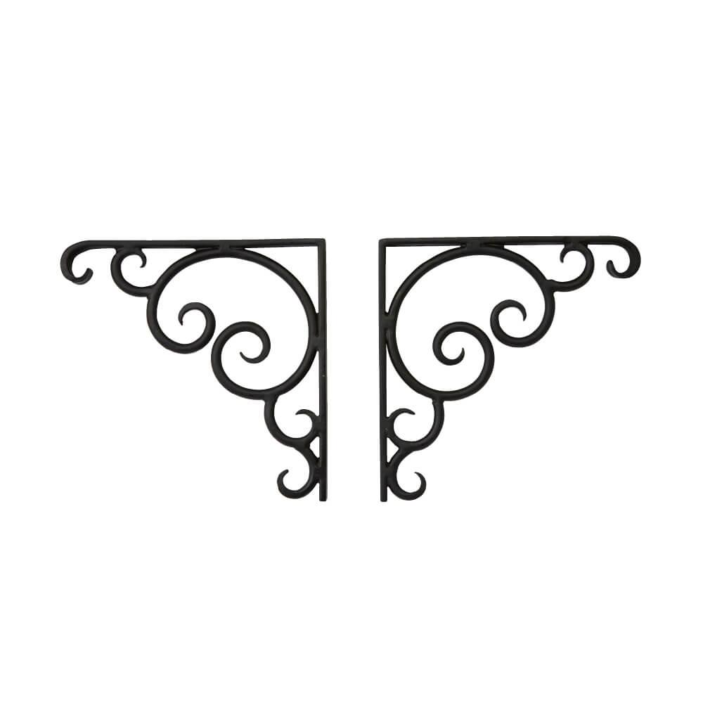 棚受け用L字アングル(壁面固定)(左右1台ずつで1セット) JHIA-V04