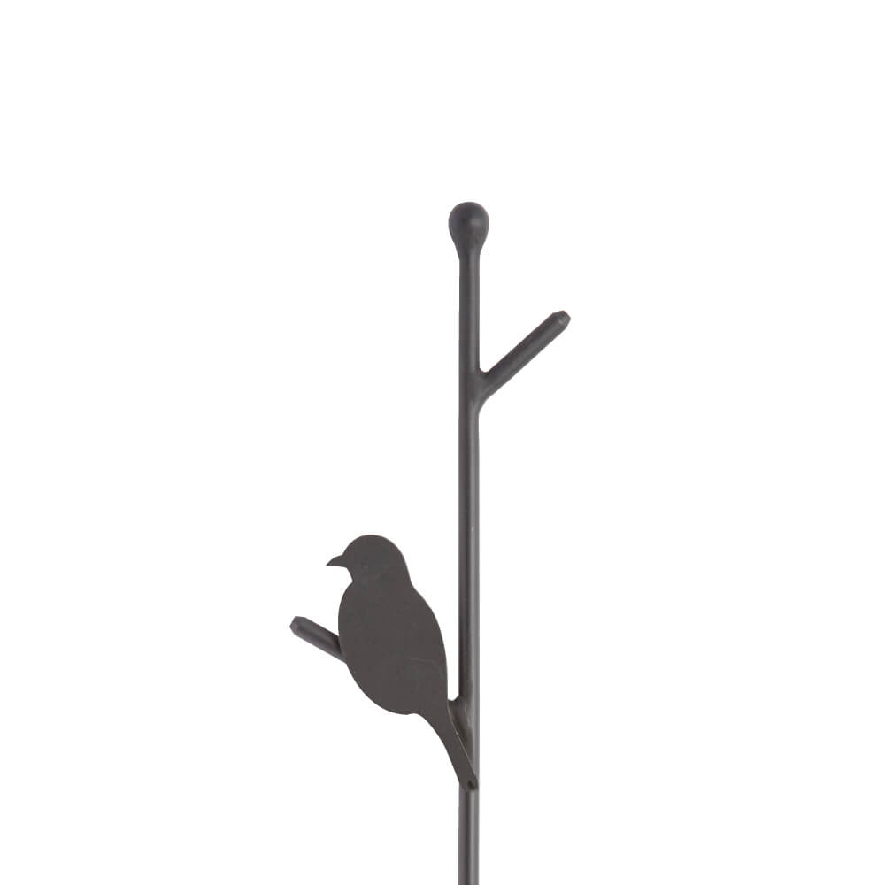 植栽ポール 野鳥(アルミ製)
