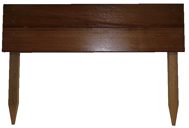段々花壇 W450㎜×H600㎜横板20㎜×105㎜幅2段張り 杭30㎜角仕様